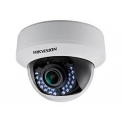 Hikvision - DS-2CE56C5T-(A)VFIR - Câmera Dome Turbo HD 3.0 TVI HD 720P Low Light Varifocal 2.8~12mm