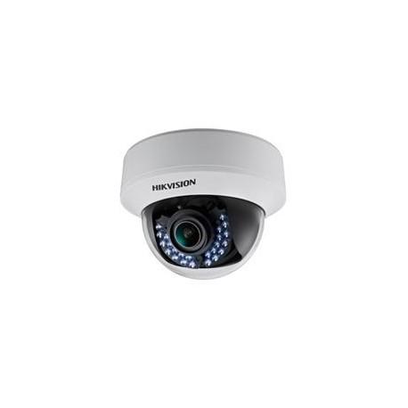 Hikvision - DS-2CE56C5T-(A)VFIR - Câmera Dome Turbo HD 3.0 TVI HD 720P Low Light Varifocal 2.8~12mm