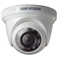 Hikvision - DS-2CE56C0T-IRP - Câmera Dome Turbo HD 3.0 HD 720P 1MP IR 20m