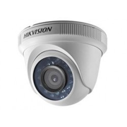 Hikvision - DS-2CE56C2T-IRP - Câmera Dome Turbo HD 3.0 TVI HD 720P 1MP IR 20m