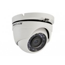 Hikvision - DS-2CE56C2T-IRM - Câmera Dome Turret Turbo HD 3.0 TVI HD720P 1MP IR 20m