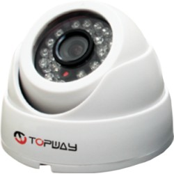 Topway - Defender Dome WHD - Câmera Dome 720P IR 20 Mts 24 Led´s