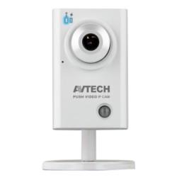 AVTech - AVN701EZ (D1) - Câmera IP D1 Cube 1/3´´ ONVIF