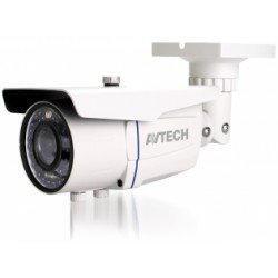 AVTech - AVM2452T (2.0MP) - Câmera IP 2MP Dwdr POE ONVIF IR 20 MTs Lente 2.8~12mm