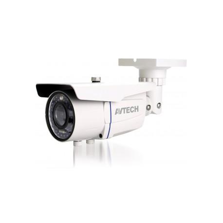 AVTech - AVM2452T (2.0MP) - Câmera IP 2MP Dwdr POE ONVIF IR 20 MTs Lente 2.8~12mm